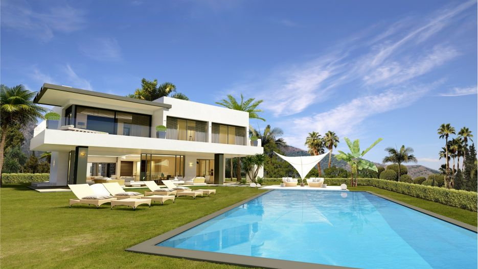 Modern villas for sale in Marbella Golden Mile