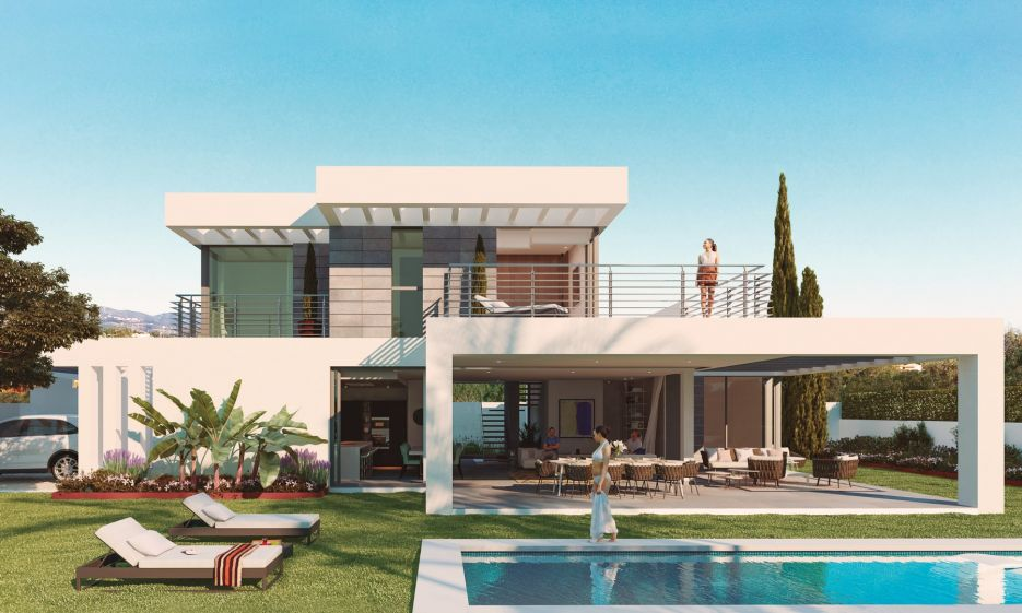 New modern villa for sale in Estepona