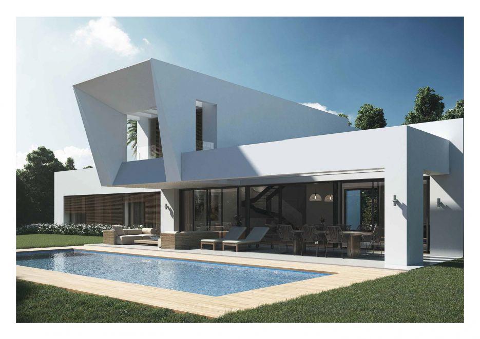 Los Olivos del Paraíso Phase 1 - Modern villa for sale in el Paraíso, Estepona