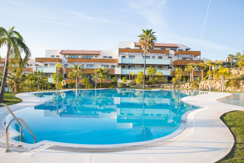 New 3 bedroom apartment for sale in Los Flamingos Golf