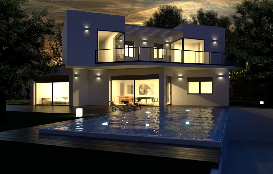 3 bedroom villa with beautiful views for sale in Mijas