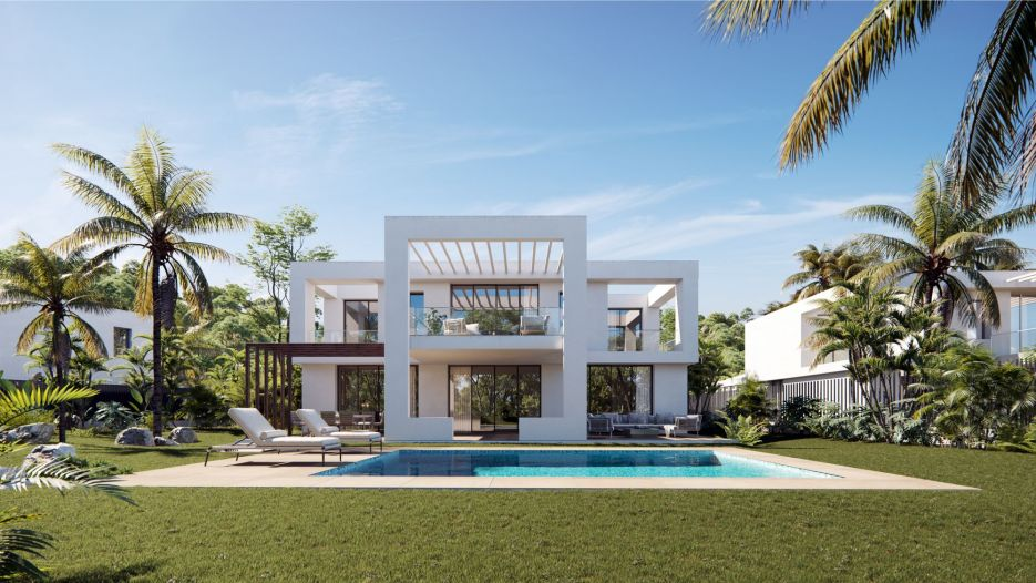Contemporary villa project in Marbella East