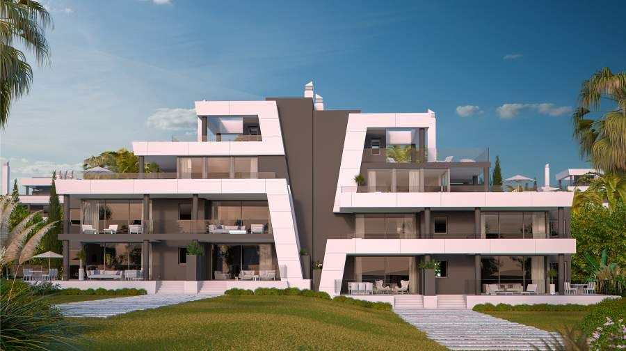 Modern apartments for sale in Marbella East