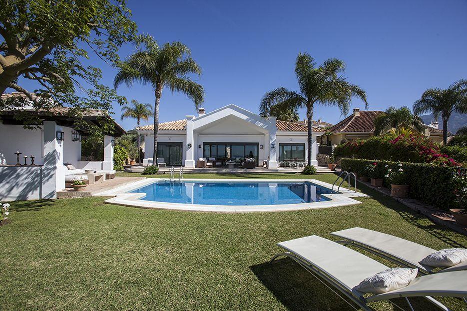 Beautiful rental villa in the Golf Valley, Nueva Andalucia