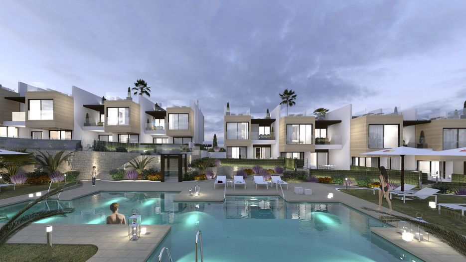 3 bedroom townhouses for sale in Las Brisas