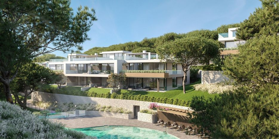 New development of apartments and penthouses in Cabopino