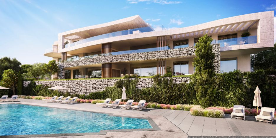 New development of apartments and penthouses in Real de La Quinta, Benahavis