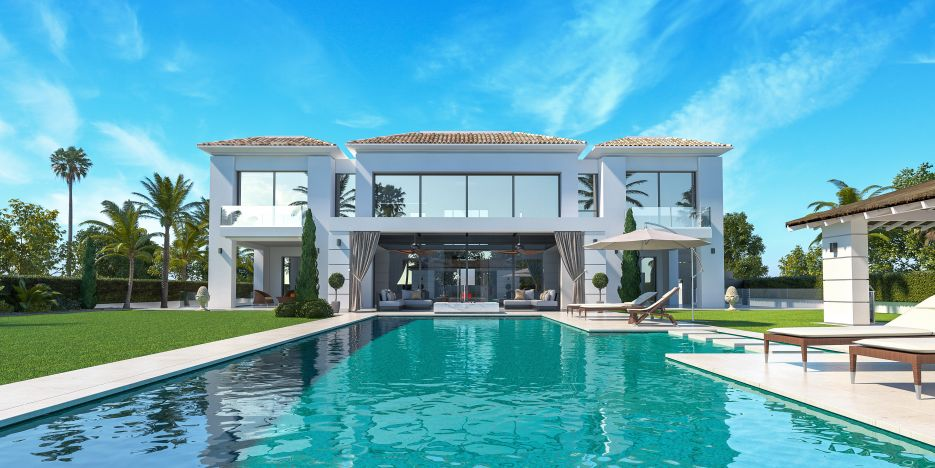 New villa for sale in Guadalmina Baja