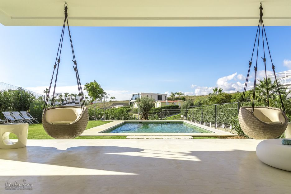 Brand new modern villa for holiday rental in Nueva Andalucia