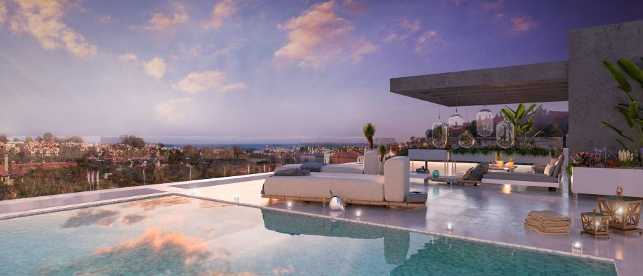 New modern development in El Campanario, Estepona