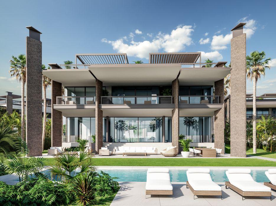 8 Contemporary style villas walking distance to Puerto Banus