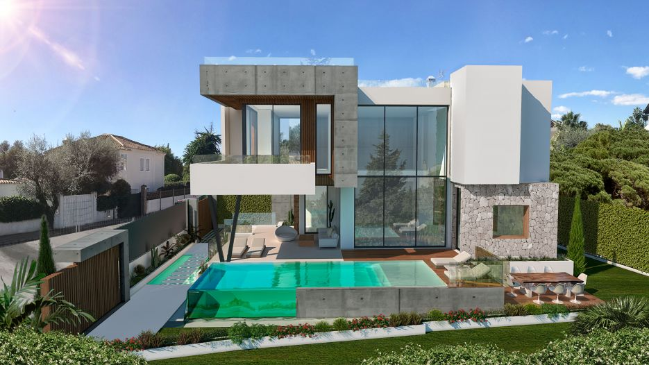 Villa Absolute - Modern beachside villa for sale in Casablanca Beach, Marbella Golden Mile