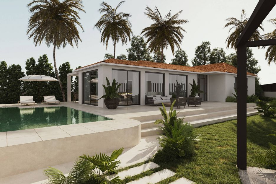 Beautiful villa under construction in the heart of Nueva Andalucia