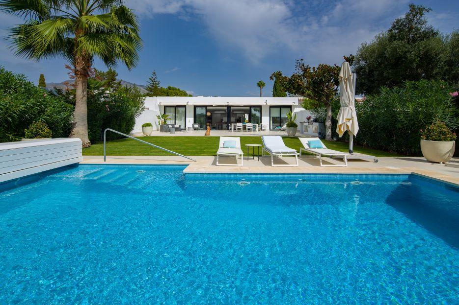 Brand New Frontline Golf Villa for sale in Peñablanca