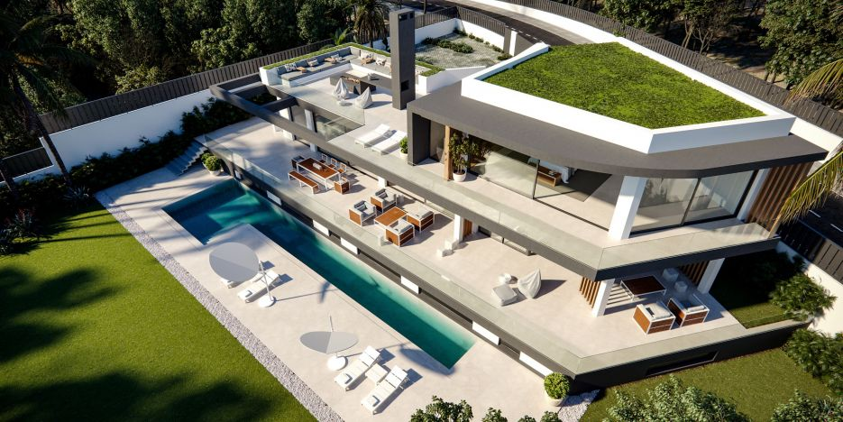 Off plan villa project - Las Lomas de Marbella Club