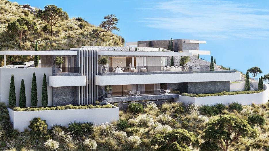 Luxury development of 18 villas
