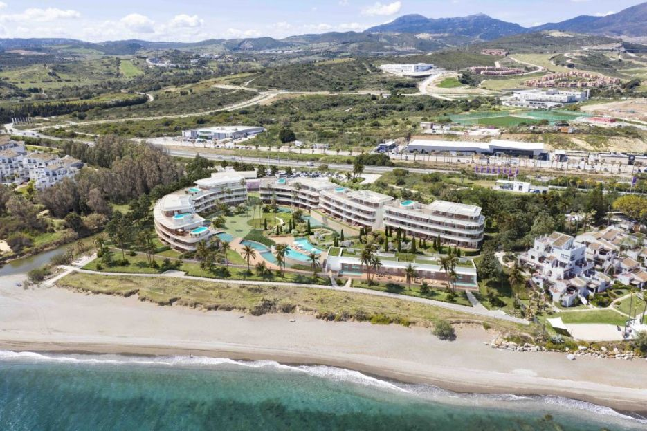 Frontline beach project of contemporary apartments and penthouses