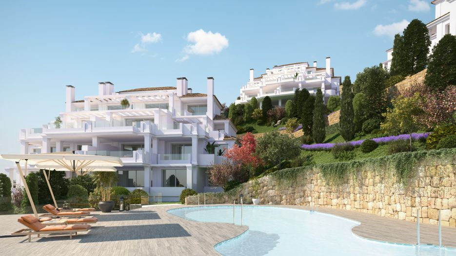 New luxury development in Aloha, Nueva Andalucia