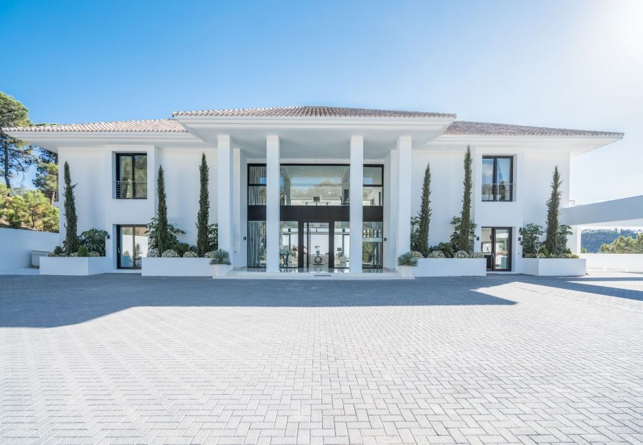 Massive villa in La Zagaleta Golf and Country Club, Benahavis