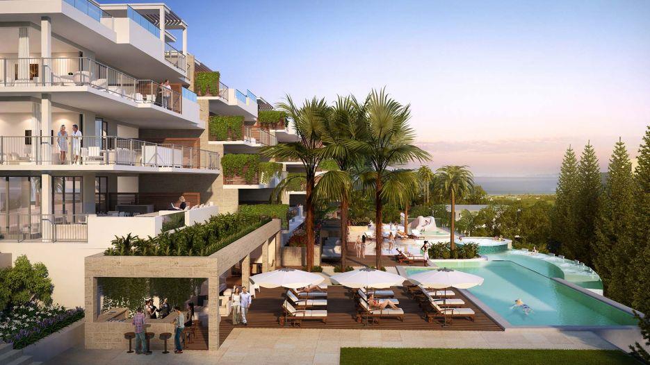 2 bedroom penthouse in La Cala de Mijas