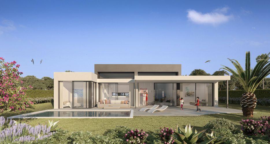 New luxury villas for sale in Atalaya area, Estepona