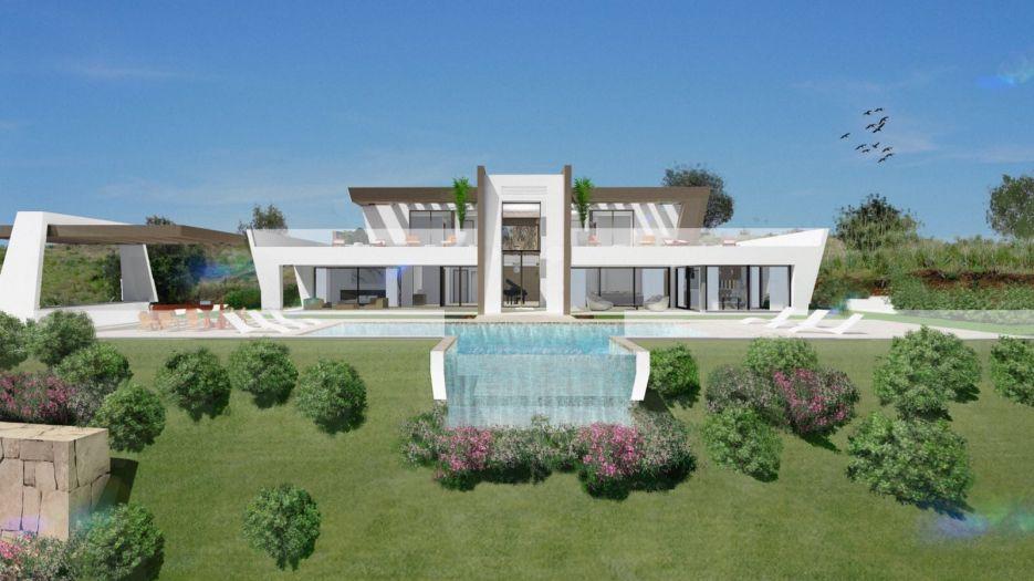 Modern villa within a prestigious area