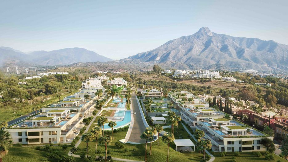 New development of apartments and villas in Sierra Blanca