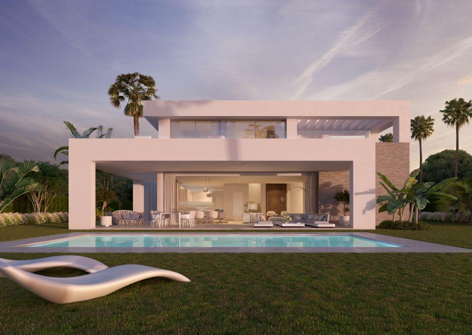 New modern villas for sale in Mijas Costa
