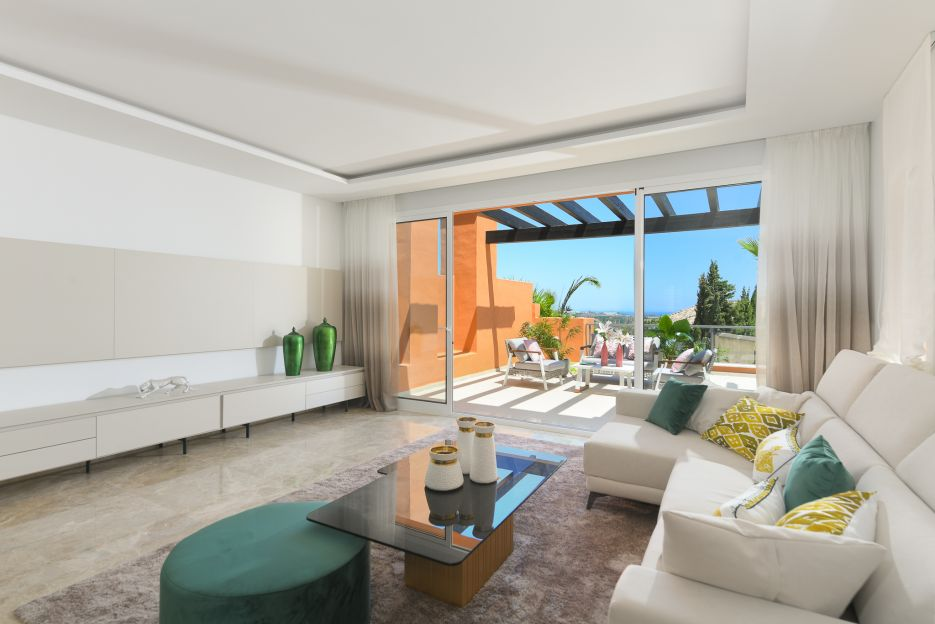 New luxury apartments for sale in Nueva Andalucia