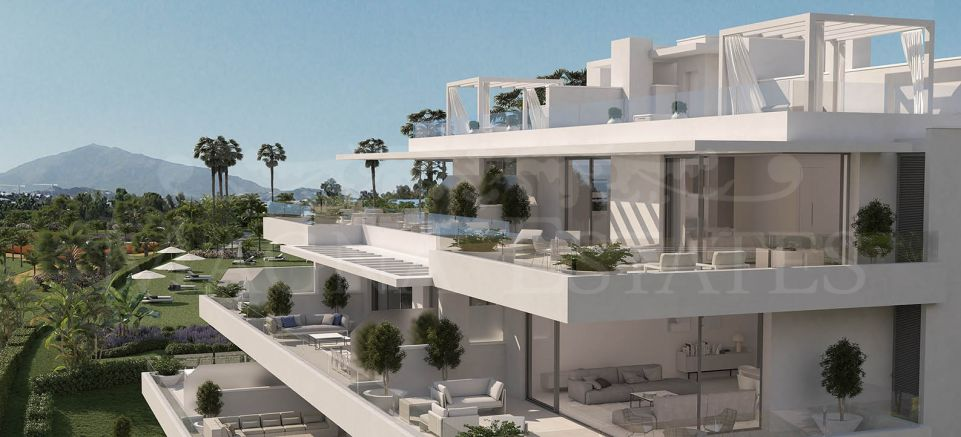 Contemporary 2 bedroom apartment under construction in Atalaya Alta