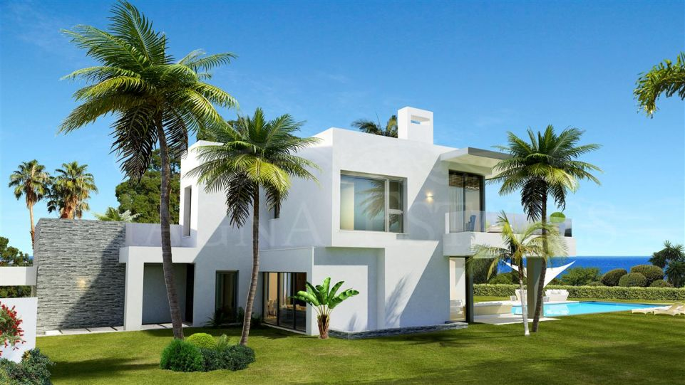 Spectacular project of Villas in Las Lomas del Marbella Club, on the Golden Mile