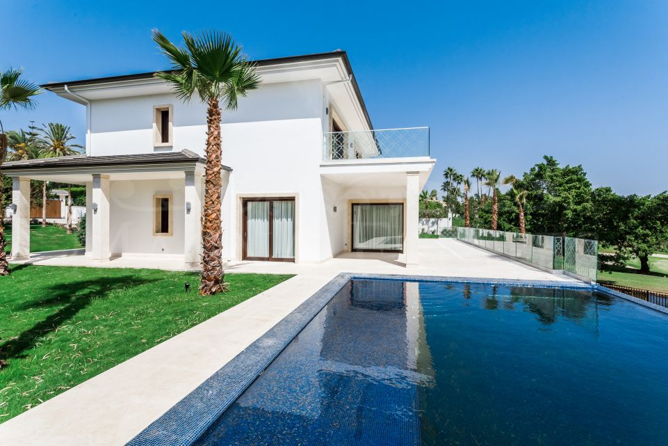 Large remodeled villa on the first line of Los Naranjos Golf, Marbella