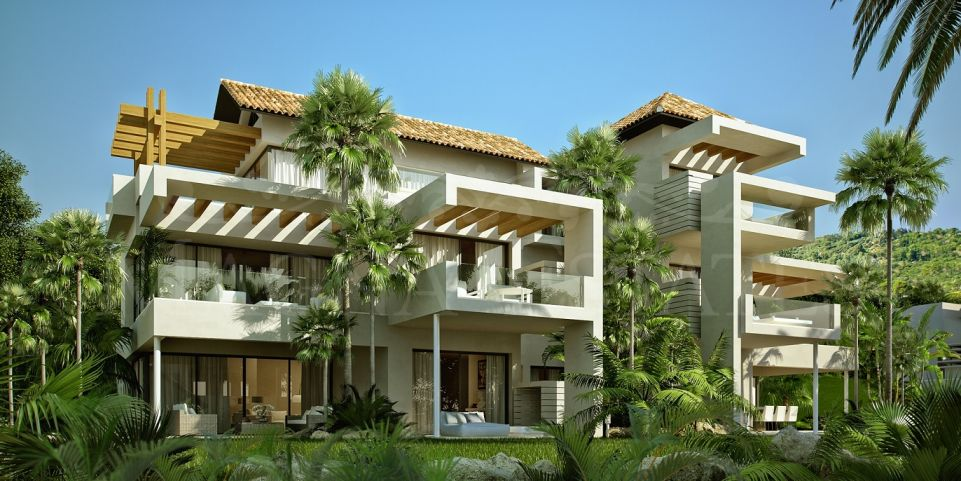 New construction apartments in Marbella Club, Benahavís