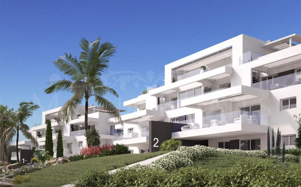 New construction apartments in Atalaya golf