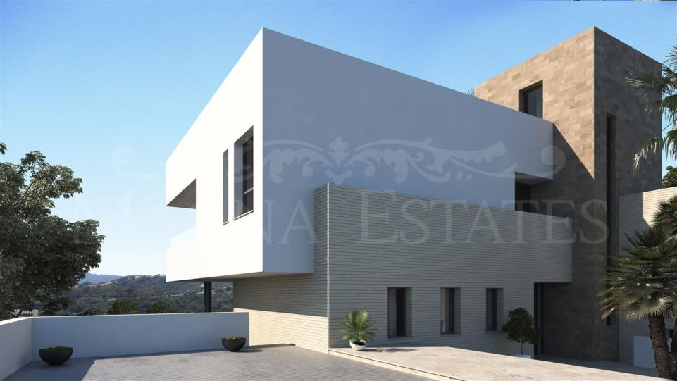Large contemporary style villa with 7 bedrooms in Los Arqueros, Benahavís