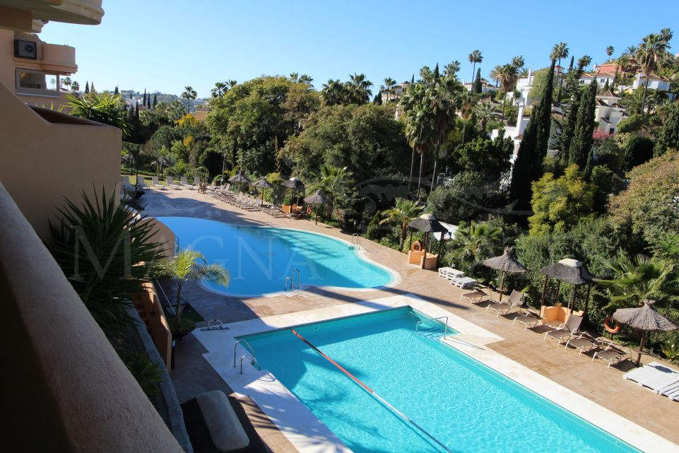 Impeccable apartment in Aloha Hill Club, in Nueva Andalucia - Golf Valley