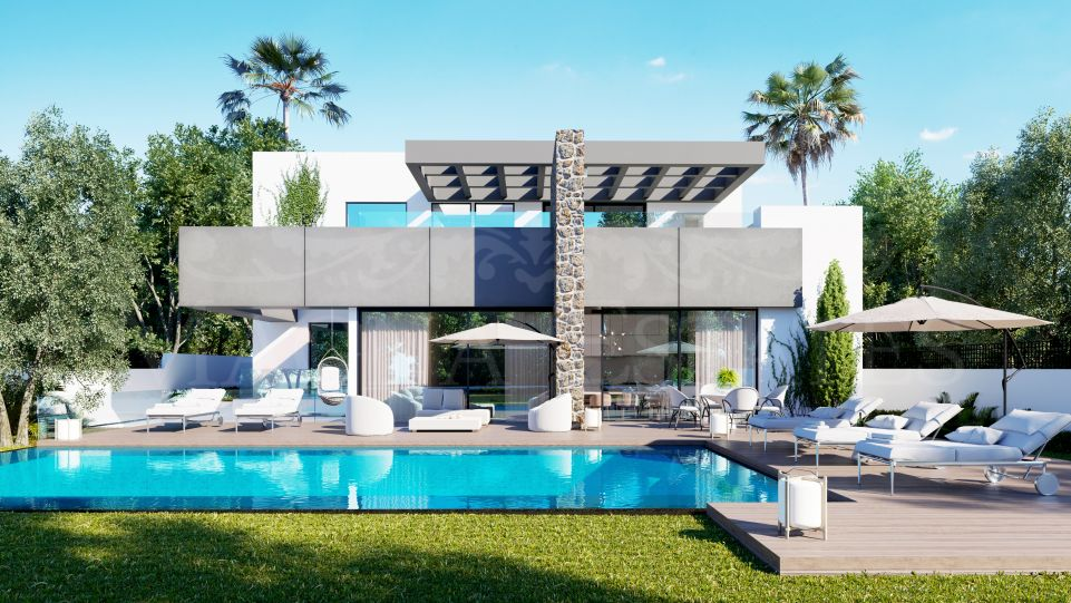Beautiful brand new villa in El Paraíso Alto, Marbella - Estepona