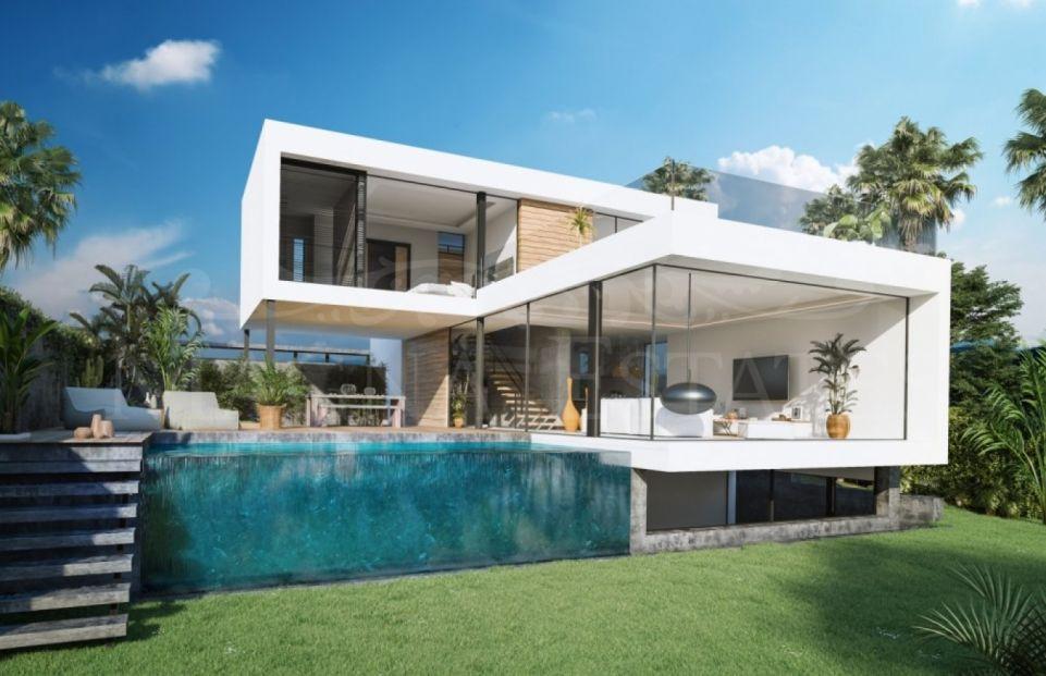 Design villa in El Campanario, Estepona