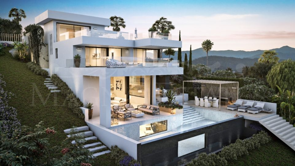 Plot with villa project in Aloha, Nueva Andalucía, Marbella