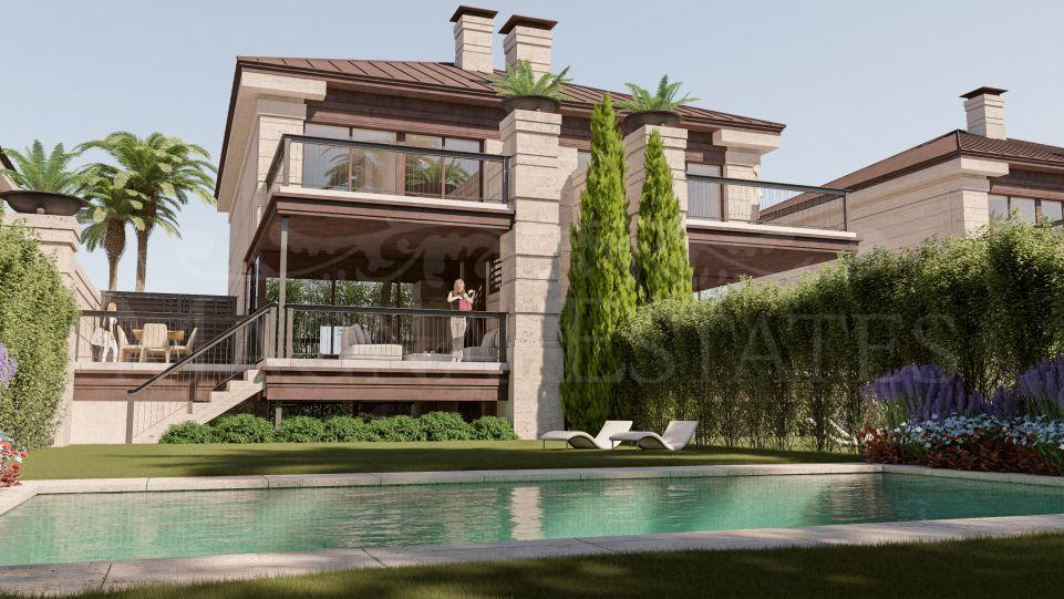 Brand new semi-detached villa in Marbella Golden Mile