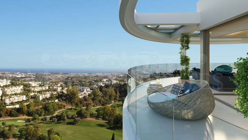 Exceptional duplex penthouse with infinity views in Benahavís - Marbella