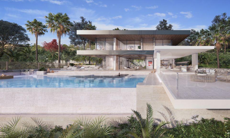 Proyecto de villa de diseño contemporáneo en Puerto del Almendro, Benahavís