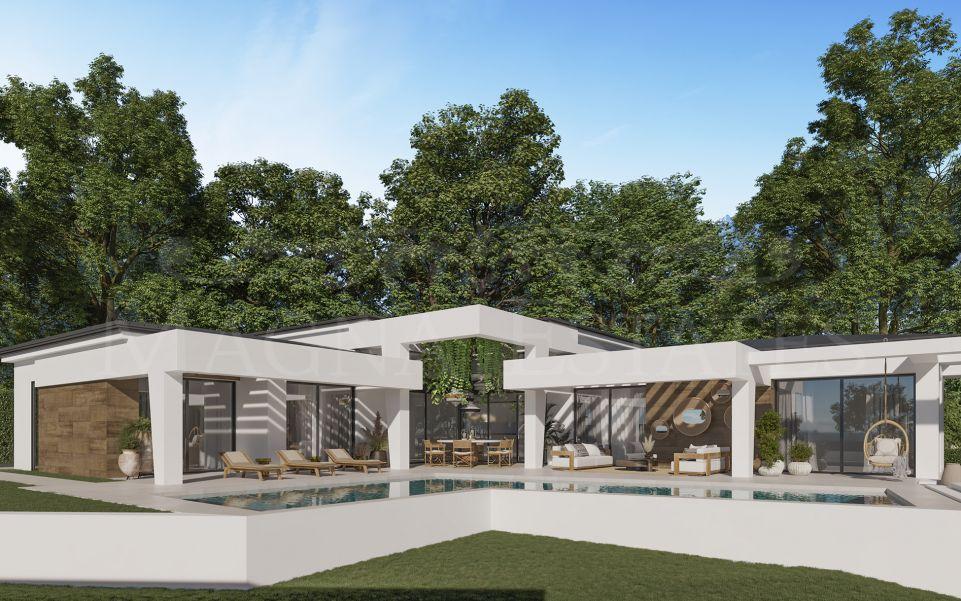 Villa a estrenar en una sola planta en Nueva Andalucía