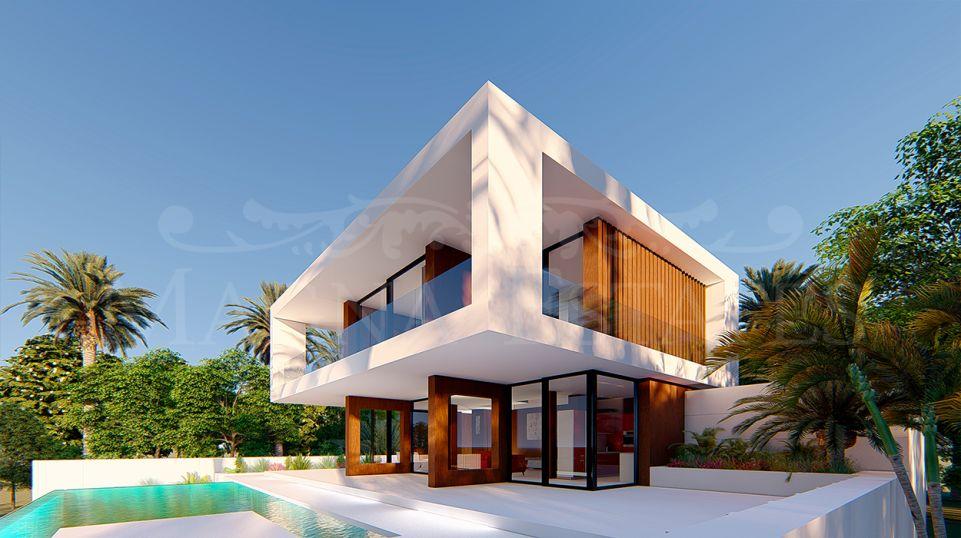 Avant-garde style villa in Valle Romano, Estepona