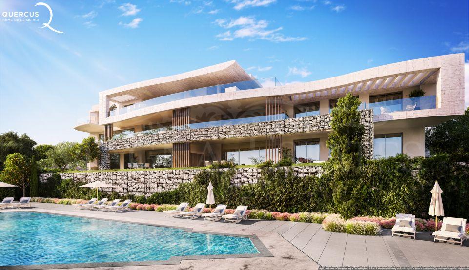 Apartamento a estrenar con vistas panorámicas al mar en La Quinta, Marbella
