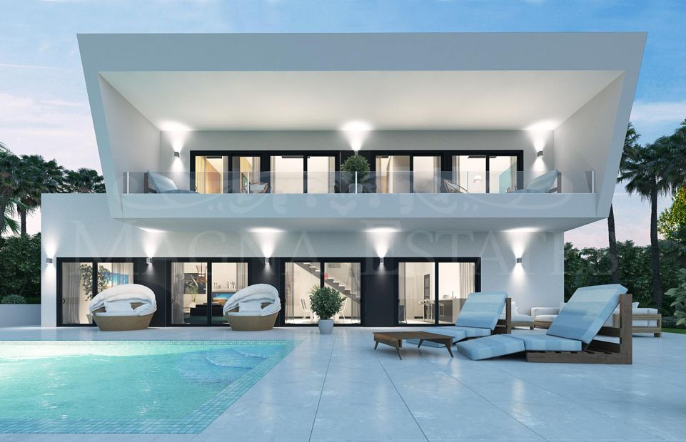 Villa a estrenar en Guadalmina Alta, Marbella
