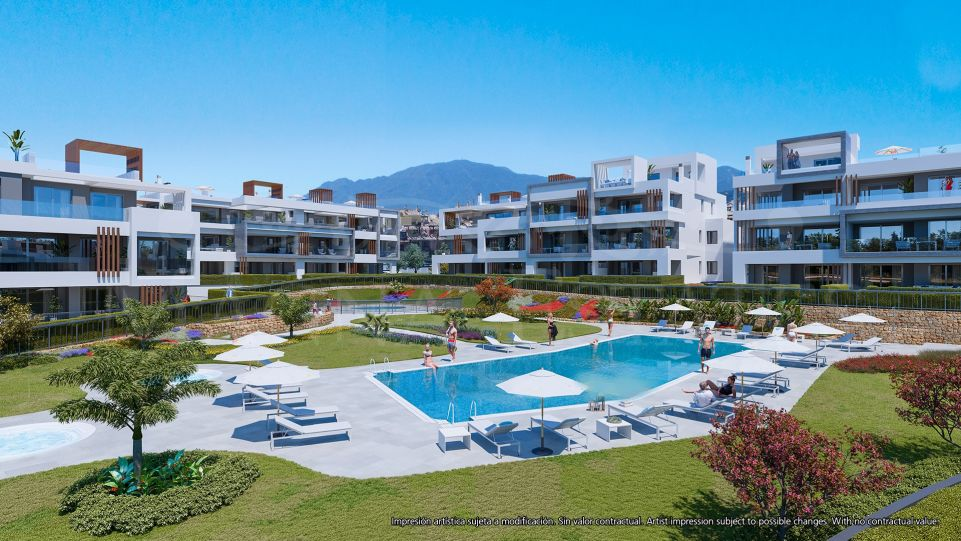 Brand new 3 bedroom apartment in Cancelada, Estepona