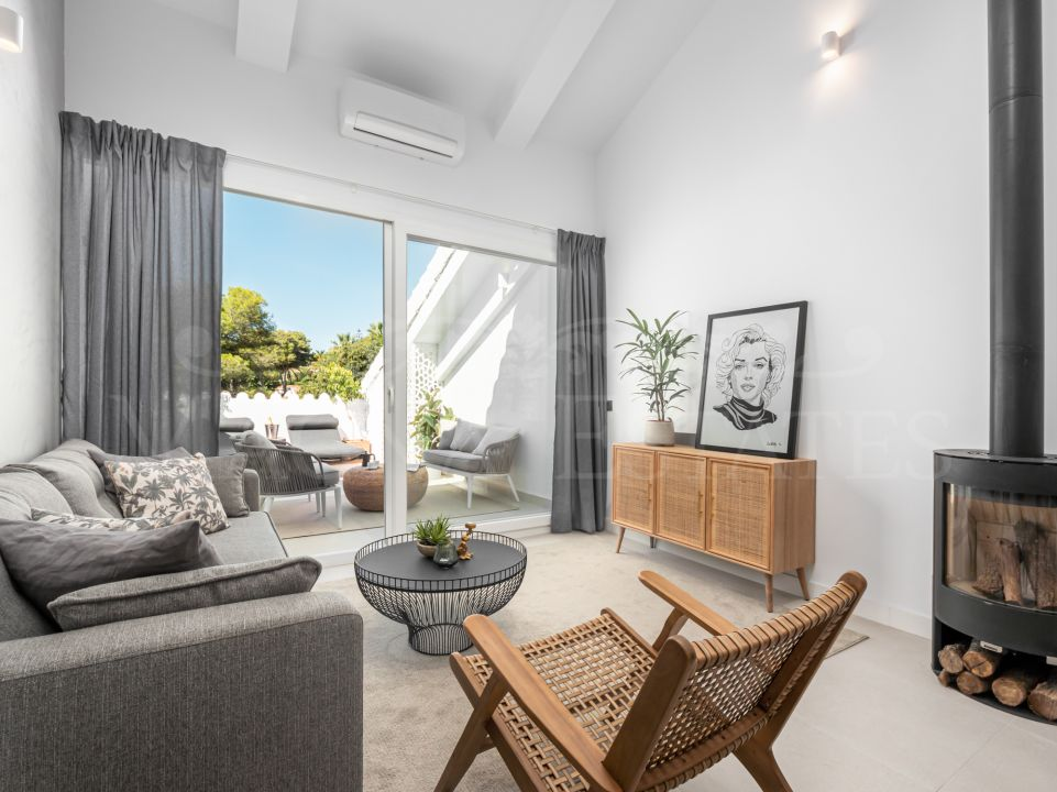 Unique super modern design duplex penthouse in Nueva Andalucía