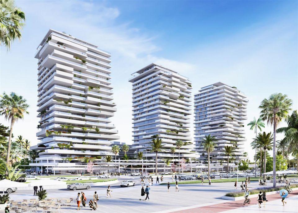 Apartamento a estrenar en primera línea de playa en Málaga ciudad