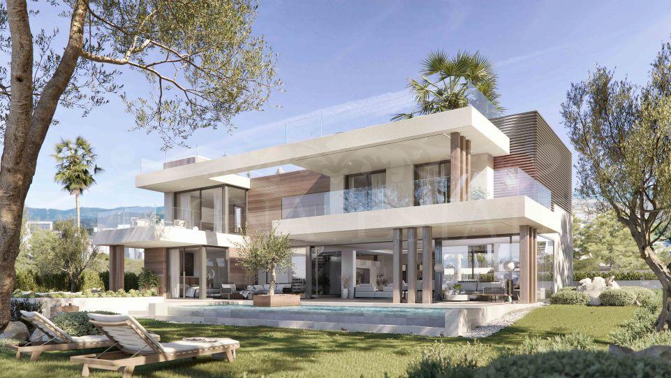 Villa a estrenar con vistas al mar en Cancelada